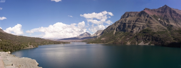 St' Mary's Lake on the East side of GNP.